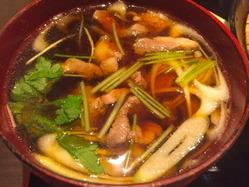 鴨亭 鴨スープ