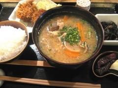 銀座ライス 豚汁定食