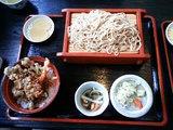 北舘製麺_舞茸丼