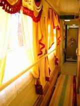 寝台列車廊下