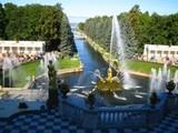 ピョートル大帝夏の宮殿 下の公園