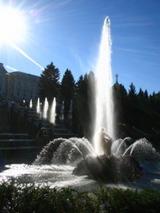 ピョートル大帝夏の宮殿 噴水