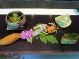 """横浜 上大岡 懐石""""花里"""" 前菜"""