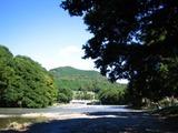 高麗川と山