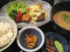 魚山亭 冷汁定食