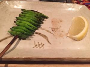 鳥よし 金針菜