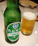 横浜中華街 桃花 青島啤酒