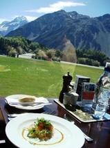 ニュージーランド マウントクック ハミテージ内レストラン2