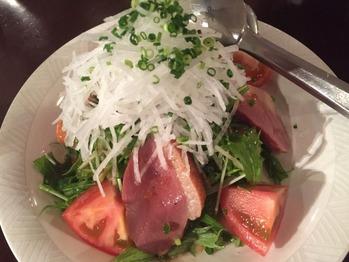 ビアライゼ 合鴨薫製サラダ