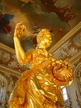 ピョートル大帝夏の宮殿 金の像