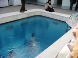 金沢21世紀美術館 レアンドロのプール1
