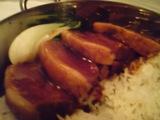 銀座 マロニエゲート チャイナホワイト 豚肉煮込みごはん