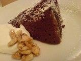 横浜・osteria UVA RARA(ウーヴァ・ラーラ)チョコレートケーキ