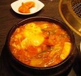 銀座 清香園 ランチ タラチゲ3