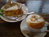 那須 黒磯 SHOZO COFFEE 空飛ぶカプチーノ チーズケーキ