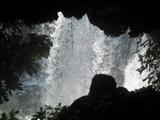 デュデン滝裏側