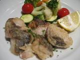 ルビーカフェ 魚と野菜