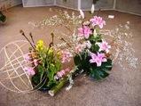 いけばな光風流 花展 横浜エリスマン邸 ギャラリー 中山映月3