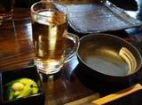"""錦糸町 焼き鳥""""ひない""""前菜&アロマ梅酒"""