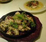 楸(ひさぎ)の牡蠣のカルパッチョなど牡蠣料理