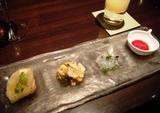 銀座 カザン KAZAN ディナー オードブル3種