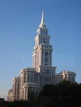 モスクワ新築アパート