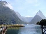 ニュージーランド ミルフォードサウンド1