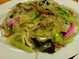 銀座 吉宗(よっそう)長崎料理 皿うどん 細麺