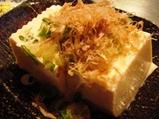 銀座 マロニエゲート やきやき三輪 お豆腐
