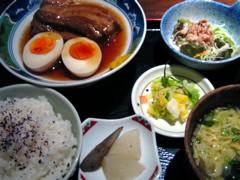 黒吉 霧島豚の角煮ランチ(大)