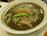 銀座松坂屋 赤坂飯店の黒胡麻坦々麺の特大サイズ
