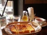 東銀座 カフェ 樹の花 ランチ フレンチトースト