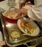 東京丸の内 トキア(TOKIA) VIRON お魚料理の調理