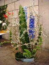 いけばな光風流 花展 横浜エリスマン邸 ギャラリー 中山映月4