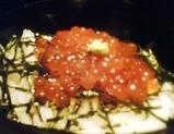 """銀座 北海料理""""函館""""いくら丼"""