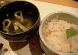 東銀座 千の庭 御飯