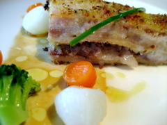 アルマーニ リストランテ 肉料理