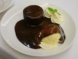 ウエストのチョコレートケーキ