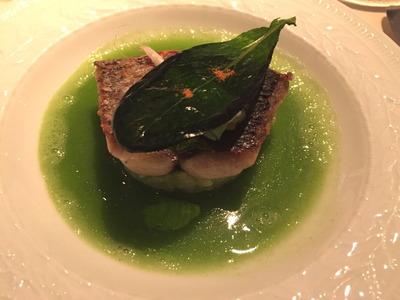 オテル・ドゥ・ミクニ 魚