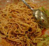 池袋の中国家庭料理の店・陽(ヤン)の汁なし坦々麺2