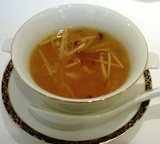銀座アスター ランチ スープ