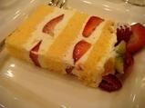 麻布十番 レストランクボウ ケーキ