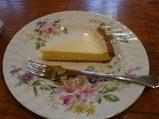 横浜・港の見える丘公園・ティールーム霧笛のチーズケーキ