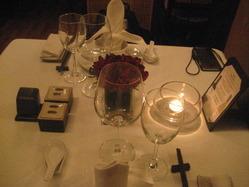 WILD RICE テーブル