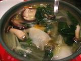 天童 スープ