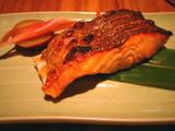 やさい家めい桜鱒の塩焼き