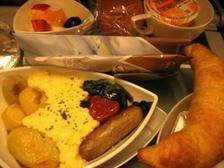 エミレーツ朝食