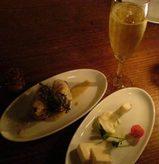 表参道 Cafe La Boheme チーズの盛り合わせ