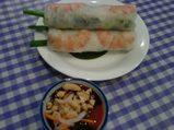 ベトナム料理 蒲田 ミレイ 海老の生春巻き