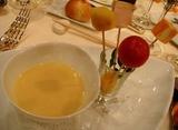 麻布十番 レストランクボウ 季節の野菜のポタージュスープ